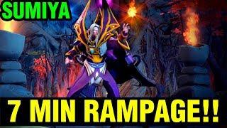 7 MIN RAMPAGE IS SICK!! - SUMIYA INVOKER 7.15 GAMEPLAY - Dota 2