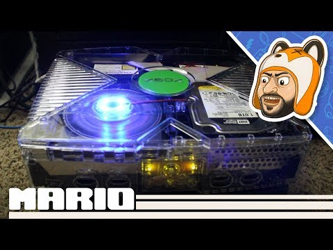 Let's Upgrade Another Original Xbox! - GhostCase Crystal Clear Kit, 1 TB HDD, And More!