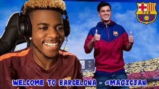 PHILIPPE COUTINHO ● WELCOME TO FC BARCELONA ● 2018 HD 🔥🔮 | Reaction