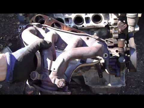 How to find leaks in exhaust manifold and exhaust pipe area