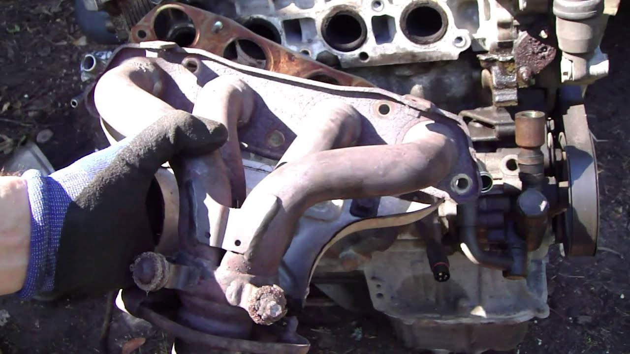 small resolution of how to find leaks in exhaust manifold and exhaust pipe area