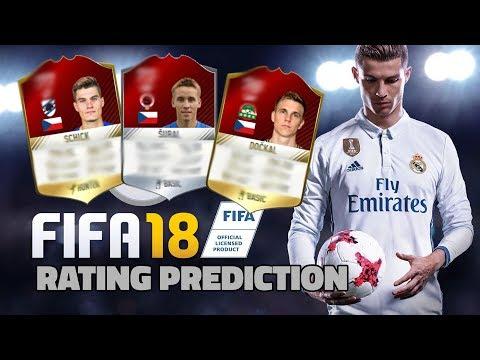 RATING ČESKÝCH HRÁČŮ VE FIFA 18? ft. Schick, Barák, Šural | PREDICTION