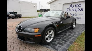 This 1998 BMW Z3 2.8 Roadster was an instant classic then and a future collectible now