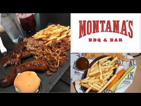 Montanas- Sampler and Chicken Tenders | JustG's Favourite