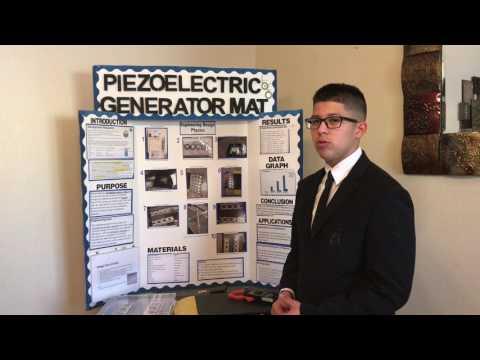 DE3MYSL Submission - [Piezoelectric Generator Mat]