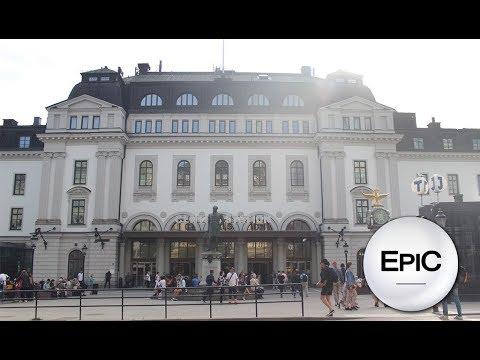 Stockholm Central Station - Sweden (HD)