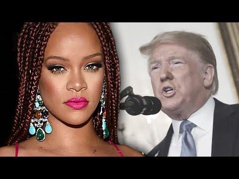 Rihanna Slams Trump Over El Paso & Ohio Tragedy