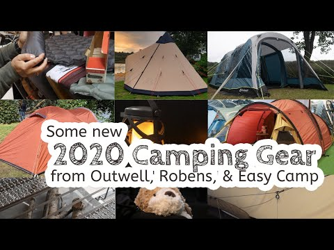 Some New 2020 Outwell, Robens, And Easy Camp Tents & Camping Gear ⛺️