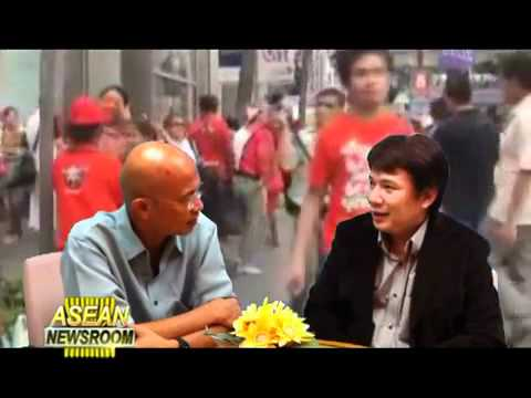 Abhisit announces Democrat will rally at Rajprasong.