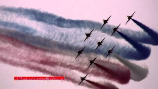 RED ARROWS IN KALAMATA