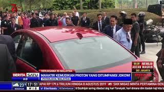 Jokowi Disopiri Mahathir Mohamad Naik Mobil Nasional Malaysia Proton