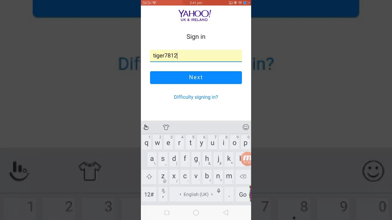 how to sign in yahoo hotmail and other emails account in gmail app