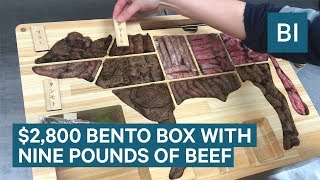 This $2,800 Bento Box Contains Nine Pounds Of Wagyu Beef