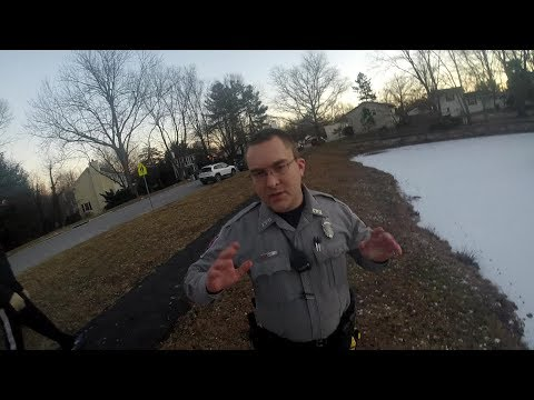 Police Called On Me For Ice Fishing In Fairfax, Virginia