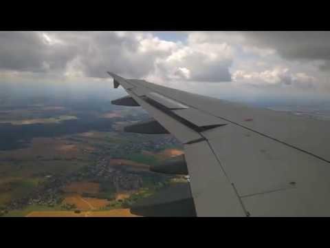 Durchgeschüttelt Germanwings A319 Landing @ Dresden 4K