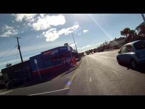 NZ , North Shore via bicycle..