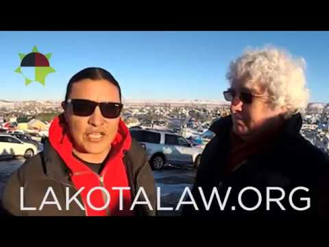 DAPL stopped! Chase Iron Eyes: This isn't the end