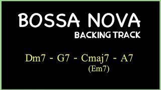 BOSSA NOVA(2516) Backing track in C Major
