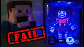 FNAF FUNKO BABY Glow in Dark Articulated 5 inch Walgreens Exclusive Figure Five Nights at Freddy's
