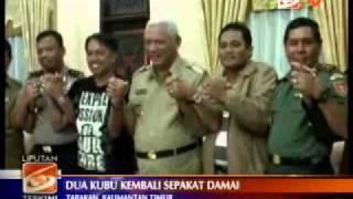 Liputan6 tv    Kelompok yang Bertikai di Tarakan Sepakat Berdamai
