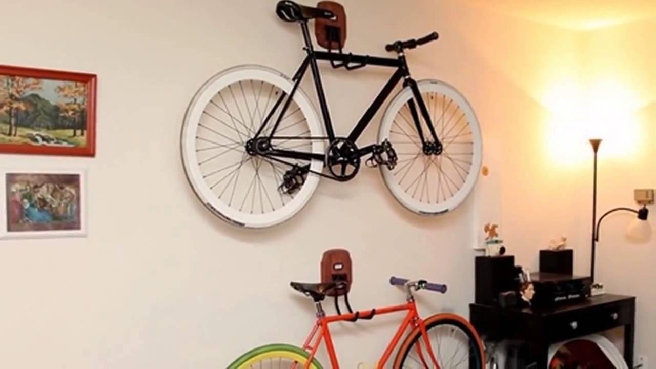 Варианты хранения велосипеда в квартире