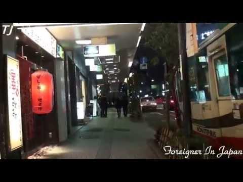 片町 スクランブル交差点 Katamachi Kanazawa City Nights
