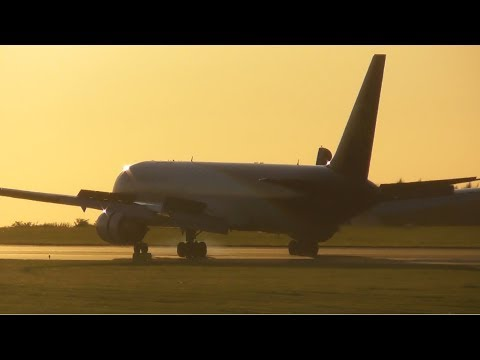 Summer Evening Plane Spotting at East Midlands Airport, EMA | 15-08-17