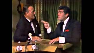 "Dean Martin & John Wayne have a talk and sing ""Don"