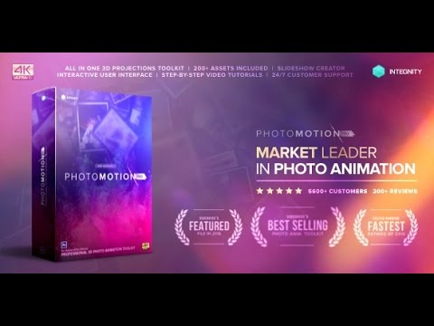 Photo Motion Pro Professional 3d Photo Animator After Effects Videohive Projects Youtube