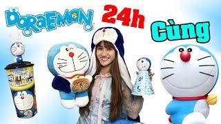 Thử Thách 24h Sống Cùng Doraemon - Vê Vê Channel