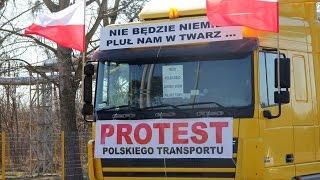 Protest przewo�nik�w (23.03.2015)