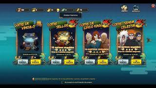 Naruto Online como obtener rollos de sellado