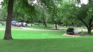 Campground Onondaga Cave State Park  Panoramic View HD