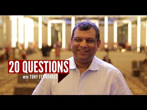 20 Questions with Tony Fernandes