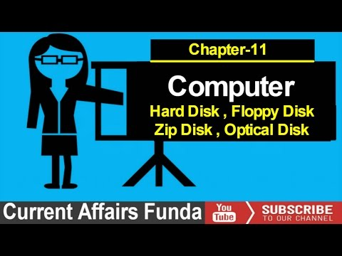 Secondary Storage (Hard Disk , Floppy Disk , Zip Disk ,etc ) Lecture -11 For LIC AAO , IBPS , SBI
