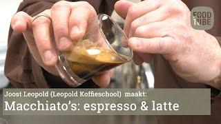 Espresso macchiato & latte macchiato maken