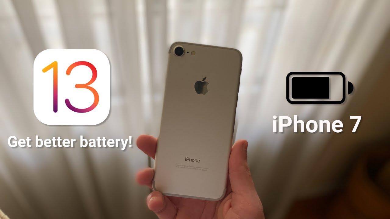 iPhone 7 Battery Problems On iOS 13/iOS 13.4.1 || Tips ...