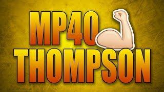 BIG THOMPSON & MP40 BUFF IN COD WW2