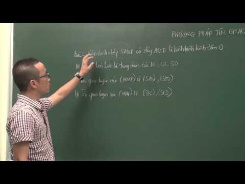 Phương pháp tìm giao tuyến hai mặt phẳng - Thầy Nguyễn Cao Cường - THPT Lương Thế Vinh HN