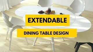 65+ Best Small Space Extendable Dining Table Design Ideas 2018