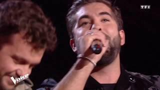 Kendji Girac/Claudio Capéo  - Que Dieu me pardonne #TheVoice la suite
