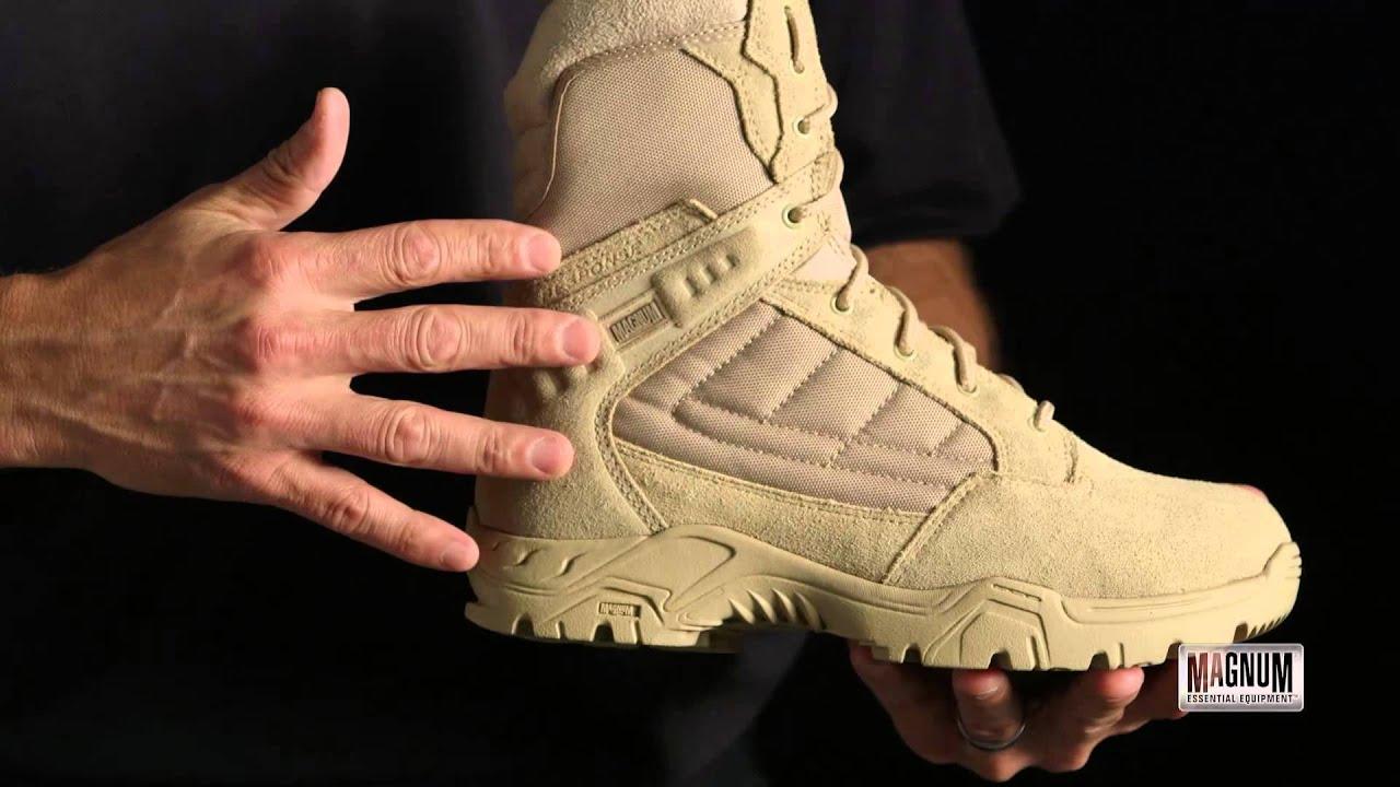 Response Ii 8 Inch Desert Tan Premium Mens Tactical Boot