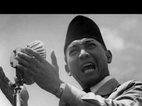 the President Soekarno's on Koes Bersaudara NGAK NGIK NGOK song Poor Clown