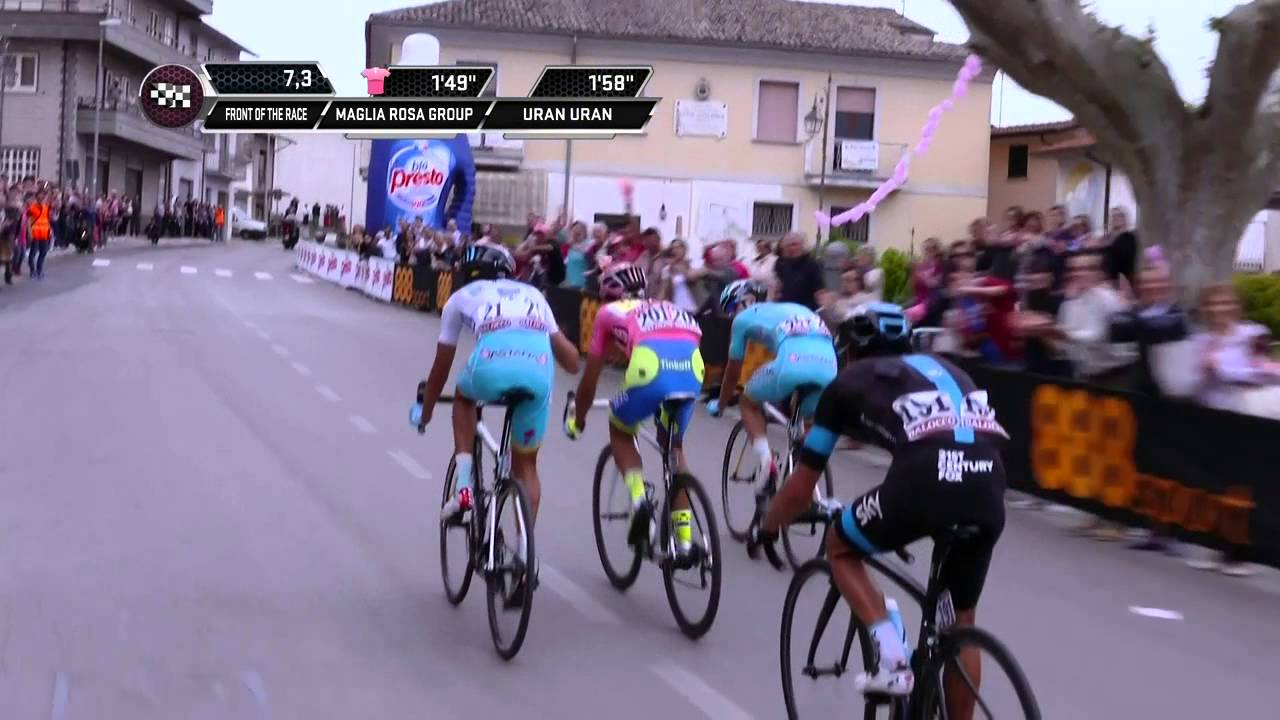 Giro d'Italia 2015: Stage 9 Highlights
