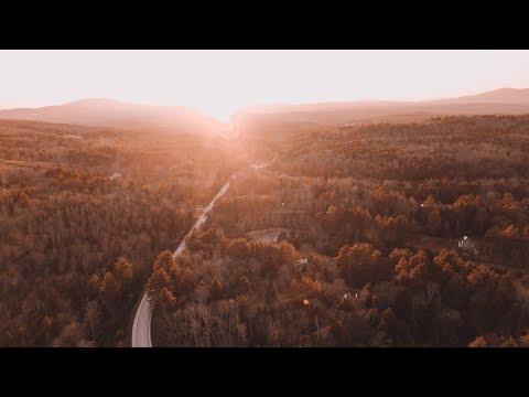 FIRST DRONE FLIGHT!  🚁 VERMONT ROAD TRIP