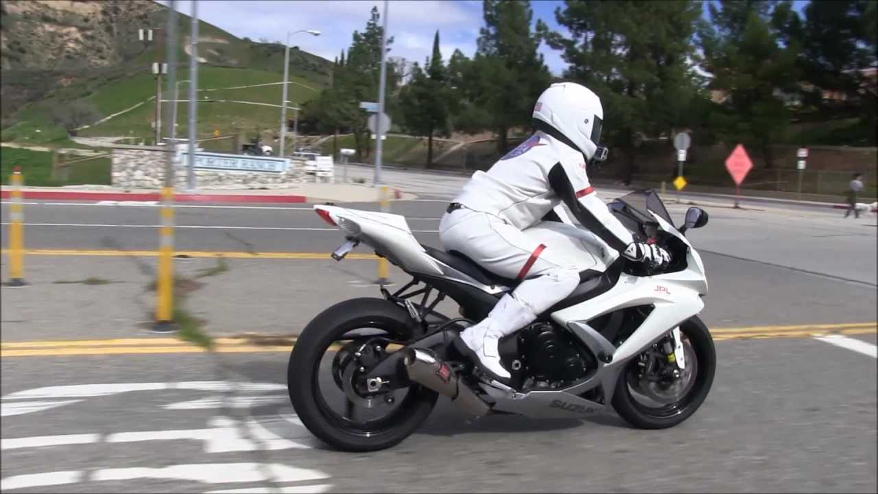Street Ride Customized Suzuki Gsx R750 Review By A
