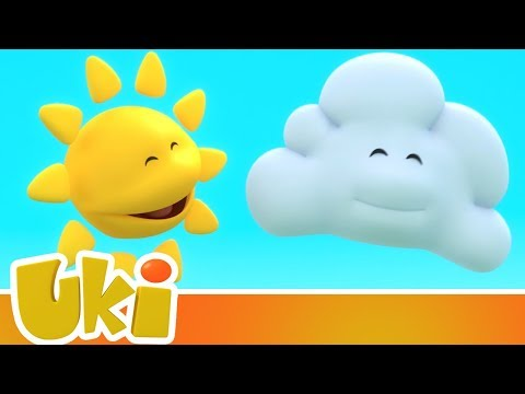Uki - The Adventures Of Sun And Cloud 🌞☁️ (25 Minutes!) | Videos For Kids