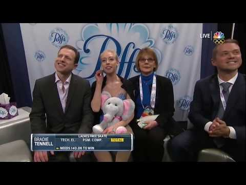Bradie Tennell FS 2018 US Nationals HD