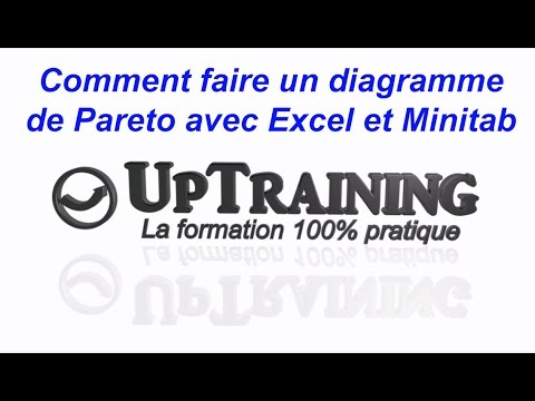 comment faire un diagramme de pareto avec excel et minitab youtube. Black Bedroom Furniture Sets. Home Design Ideas