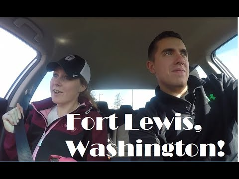 Visiting Fort Lewis, Washington for the first time!
